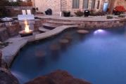 <h5>Outdoor Living - Argyle</h5><p>Signature Pools & Spas - Custom Swimming Pools</p>