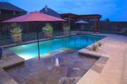 <h5>Outdoor Living - Highland Village</h5><p>Signature Pools & Spas - Custom Swimming Pools</p>