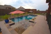 <h5>Custom Pool Design - Highland Village</h5><p>Signature Pools & Spas - Custom Swimming Pools</p>