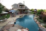 <h5>Custom Stonework - Soutlake</h5><p>Signature Pools & Spas - Custom Swimming Pools</p>