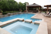 <h5>Custom Pool Spa - Grapevine</h5><p>Signature Pools & Spas - Custom Swimming Pools</p>