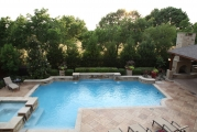 <h5>Custom Pool Design - Flower Mound</h5><p>Signature Pools & Spas - Custom Swimming Pools</p>
