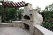 <h5>Outdoor Fireplace - Argyle</h5><p>Signature Pools & Spas - Custom Swimming Pools</p>