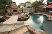 <h5>Outdoor Living -Argyle</h5><p>Signature Pools & Spas - Custom Swimming Pools</p>