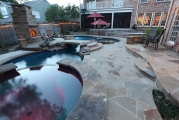 <h5>Custom Stone Patios - Argyle</h5><p>Signature Pools & Spas - Custom Swimming Pools</p>