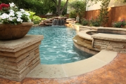 <h5>Custom Pool Spa - Highland Park</h5><p>Signature Pools & Spas - Custom Swimming Pools</p>