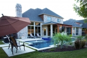 <h5>Backyard Landscapes - Grapevine</h5><p>Signature Pools & Spas - Custom Swimming Pools</p>