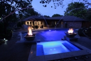 <h5>Pool Lighting - Coppell</h5><p>Signature Pools & Spas - Custom Swimming Pools</p>