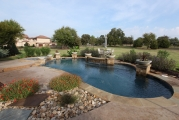 <h5>Landscape Design - Keller</h5><p>Signature Pools & Spas - Custom Swimming Pools</p>
