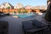 <h5>Backyard Design - Plano</h5><p>Signature Pools & Spas - Custom Swimming Pools</p>