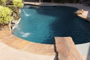 <h5>Stonework - Frisco</h5><p>Signature Pools & Spas - Custom Swimming Pools</p>