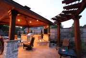 <h5>Trellises - Flower Mound</h5><p>Signature Pools & Spas - Custom Swimming Pools</p>