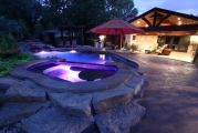 <h5>Custom Pool Spa - Plano</h5><p>Signature Pools & Spas - Custom Swimming Pools</p>