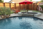 <h5>Custom Pool Spa - Island Park</h5><p>Signature Pools & Spas - Custom Swimming Pools</p>