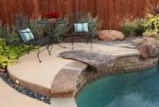 <h5>Outdoor Design - Island Park</h5><p>Signature Pools & Spas - Custom Swimming Pools</p>