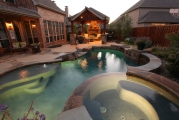 <h5>Custom Pool Spa - Carrollton</h5><p>Signature Pools & Spas - Custom Swimming Pools</p>