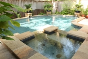 <h5>Custom Pool Spa - Highland Village</h5><p>Signature Pools & Spas - Custom Swimming Pools</p>