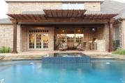 <h5>Pergolas - Richardson</h5><p>Signature Pools & Spas - Custom Swimming Pools</p>