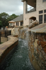 <h5>Stonework - Allen</h5><p>Signature Pools & Spas - Custom Swimming Pools</p>