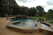 <h5>Custom Pool Spa - Trophy Club</h5><p>Signature Pools & Spas - Custom Swimming Pools</p>