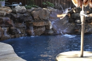 <h5>Stonework - Flower Mound</h5><p>Signature Pools & Spas - Custom Swimming Pools</p>