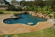 <h5>Outdoor Design - Island Park</h5><p>Signature Pools & Spas - Custom Swimming Pools</p>