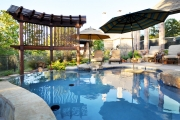<h5>Trellises - Coppell</h5><p>Signature Pools & Spas - Custom Swimming Pools</p>