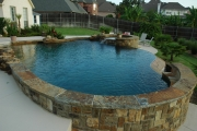 <h5>Stonework - Soutlake</h5><p>Signature Pools & Spas - Custom Swimming Pools</p>