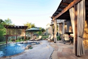 <h5>Trellises - Grapevine</h5><p>Signature Pools & Spas - Custom Swimming Pools</p>