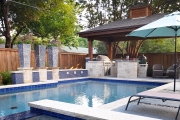 <h5>Outdoor Kitchens - Frisco</h5><p>Signature Pools & Spas - Custom Swimming Pools</p>