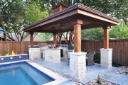<h5>Pavilions - Flower Mound</h5><p>Signature Pools & Spas - Custom Swimming Pools</p>