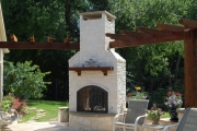 <h5>Outdoor Fireplaces - Argyle</h5><p>Signature Pools & Spas - Custom Swimming Pools</p>