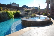 <h5>Custom Pool Spas - Prestonwood</h5><p>Signature Pools & Spas - Custom Swimming Pools</p>