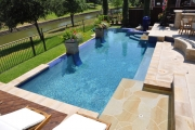<h5>Outdoor patio - Murphy</h5><p>Signature Pools & Spas - Custom Swimming Pools</p>