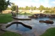 <h5>Custom Pool Spa - Colleyville</h5><p>Signature Pools & Spas - Custom Swimming Pools</p>