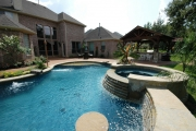<h5>Pavilions - Coppell</h5><p>Signature Pools & Spas - Custom Swimming Pools</p>