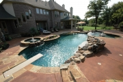 <h5>Stonework - Keller</h5><p>Signature Pools & Spas - Custom Swimming Pools</p>
