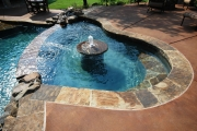 <h5>Custom Pool Spa - Keller</h5><p>Signature Pools & Spas - Custom Swimming Pools</p>