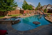 <h5>Custom Pool Design - Plano</h5><p>Signature Pools & Spas - Custom Swimming Pools</p>