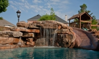 <h5>Stonework - Murphy</h5><p>Signature Pools & Spas - Custom Swimming Pools</p>