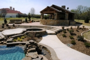<h5>Pavilions - Frisco</h5><p>Signature Pools & Spas - Custom Swimming Pools</p>