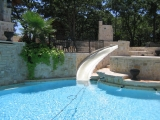 <h5>Custom Swimming Pool Features - Highland Park</h5><p>Signature Pools & Spas - Custom Swimming Pools</p>