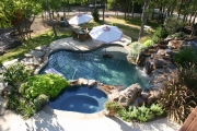 <h5>Landscape Design - McKinney</h5><p>Signature Pools & Spas - Custom Swimming Pools</p>