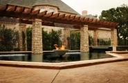 <h5>Custom Stonework - Flower Mound</h5><p>Signature Pools & Spas - Custom Swimming Pools</p>