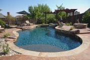 <h5>Outdoor Living - Plano</h5><p>Signature Pools & Spas - Custom Swimming Pools</p>