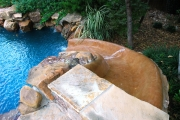 <h5>Custom Pool Features - McKinney</h5><p>Signature Pools & Spas - Custom Swimming Pools</p>