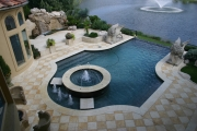 <h5>Stonework - Argyle</h5><p>Signature Pools & Spas - Custom Swimming Pools</p>