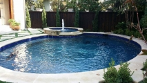 <h5>Custom Pool Spa - Prestonwood</h5><p>Signature Pools & Spas - Custom Swimming Pools</p>