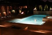 <h5>Custom Swimming Pool Lighting - Highland Village</h5><p>Signature Pools & Spas - Custom Swimming Pools</p>
