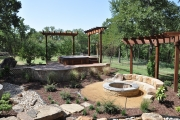 <h5>Trellises - Keller</h5><p>Signature Pools & Spas - Custom Swimming Pools</p>
